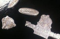 Engravings in magnesium