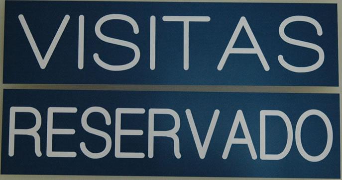 Visitors Signage